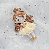 Disney Princess Doll Crochet Pattern — Belle