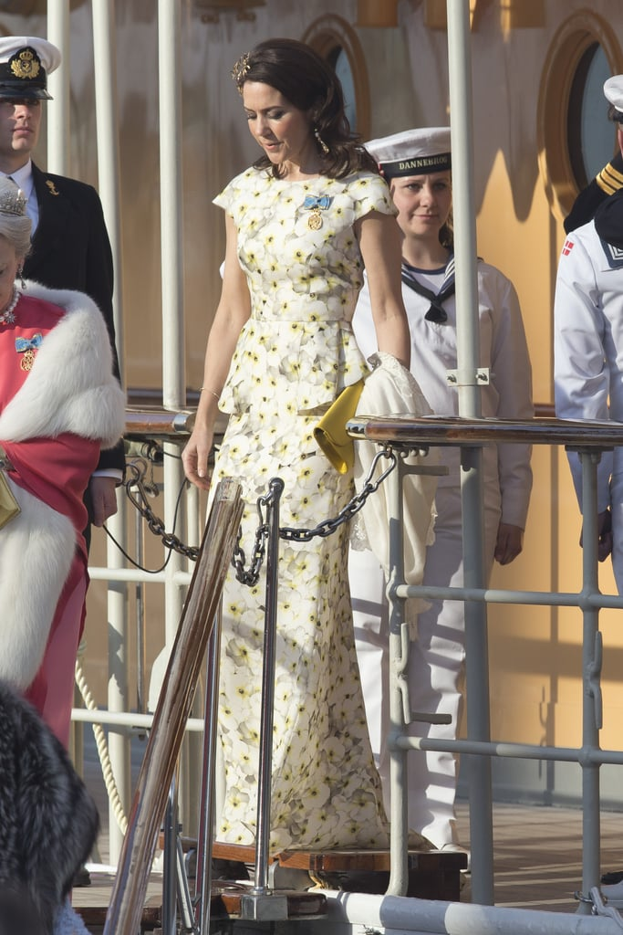 Princess Mary's YDE Dress at King Carl's Birthday 2016