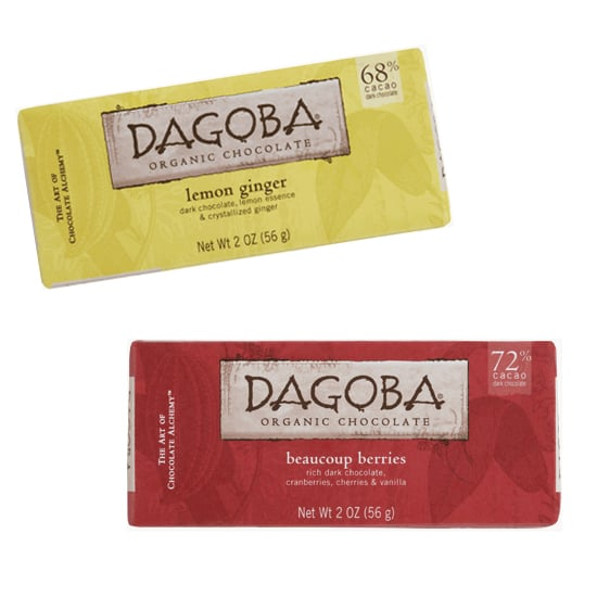 If you don't have time to order online, I love the idea of giving some delicious Dagoba bars in happy Spring hues. The