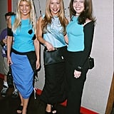 At the LA tour stop, Fergie was there with her girl group, Wild Orchid.
