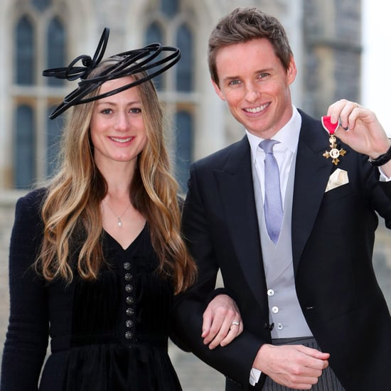Eddie Redmayne Gets an OBE From the Queen