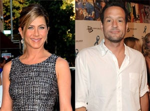 Jennifer Aniston Spotted On a Date With Cougar Town's Josh Hopkins