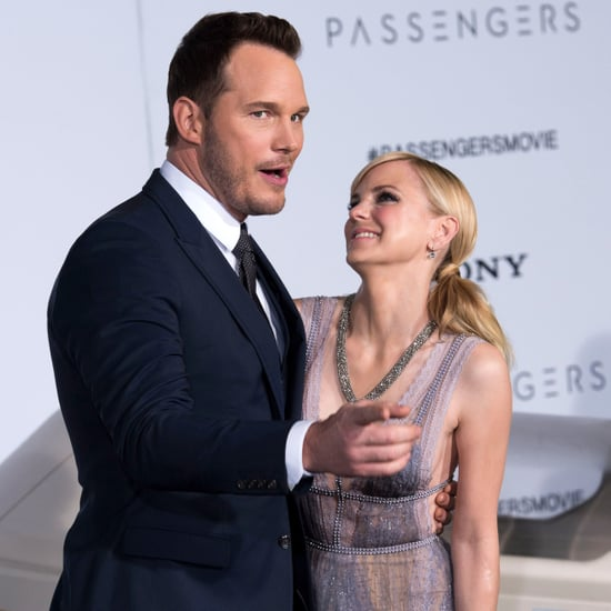 Chris Pratt and Anna Faris at LA Premiere of Passengers