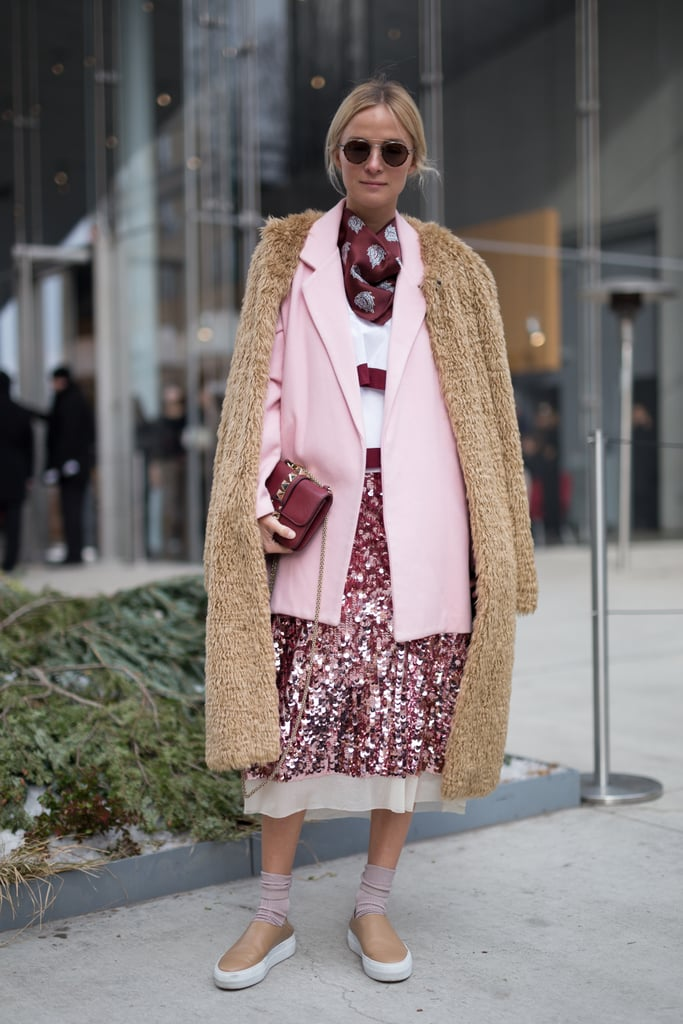Layer 2 Coats Together — Bonus Points For Added Texture