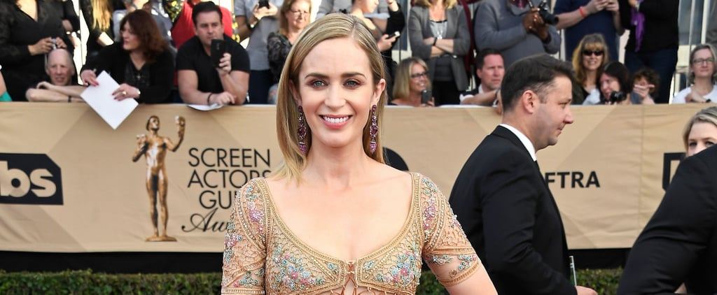 We Didn't Think Emily Blunt's Look Could Get Any Better, Then We Saw Her Earrings