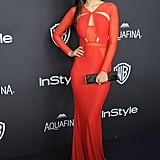 Victoria Justice at the InStyle Golden Globe Awards Party