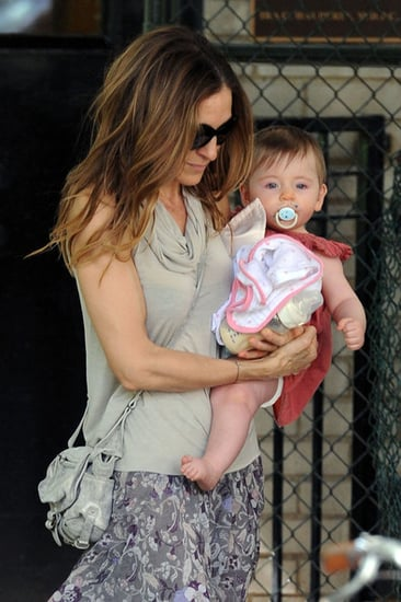 Sarah Jessica Parker walks her daughter Loretta in New York