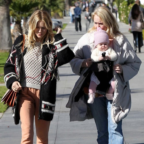 Sienna Miller and Baby Marlowe in Santa Monica | Pictures