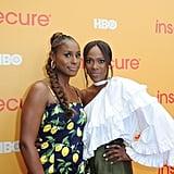 Issa Rae and Yvonne Orji