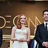 Ben Stiller, Jessica Chastain, and David Schwimmer were all smiles at the premiere of Madagascar 3: Europe's Most Wanted.