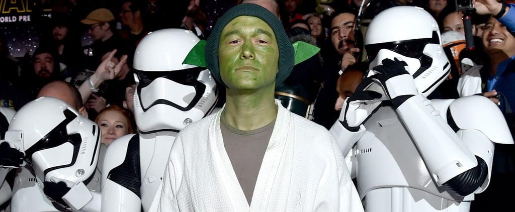 Joseph Gordon-Levitt Brought the Force to the Star Wars World Premiere Red Carpet