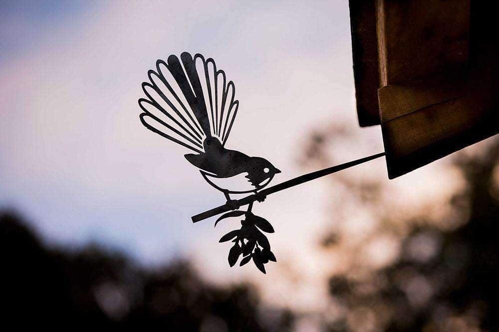 Fantail Metal Bird