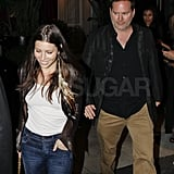 Pictures of Newly Single Jessica Biel Leaving a Birthday Party in LA