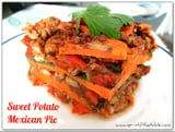Sweet Potato Mexican Pie