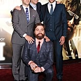"""Bradley Cooper and his Hangover crew play best friends on screen and have grown to be a close-knit bunch in real life after years of filming together. Bradley explained the bond to USA Today, saying, """"Great actors can fake chemistry. But audiences know when it's really there, and I think that's what people pick up on. We really are friends, off the set as well."""""""