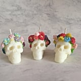 Skull Candle Flower Crown