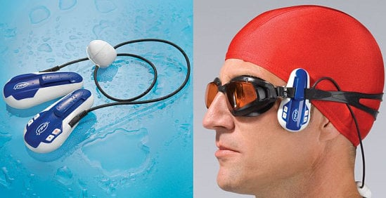 Swimmer MP3 Player