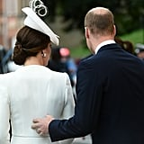 Kate Middleton and Prince William in Belgium July 2017