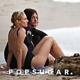 Diane Kruger and Norman Reedus Enjoy Some R&R on the Beach in Costa Rica