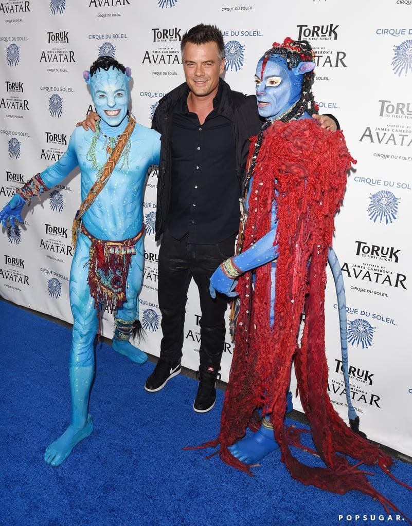 Josh Duhamel and Son at Cirque du Soleil LA Show 2016