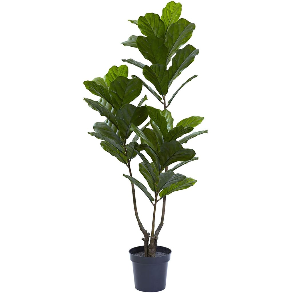 Nearly Natural Fiddle Leaf Indoor/Outdoor UV Resistant Tree
