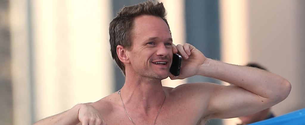 Neil Patrick Harris Skips the Oscars and Hits the Beach Instead