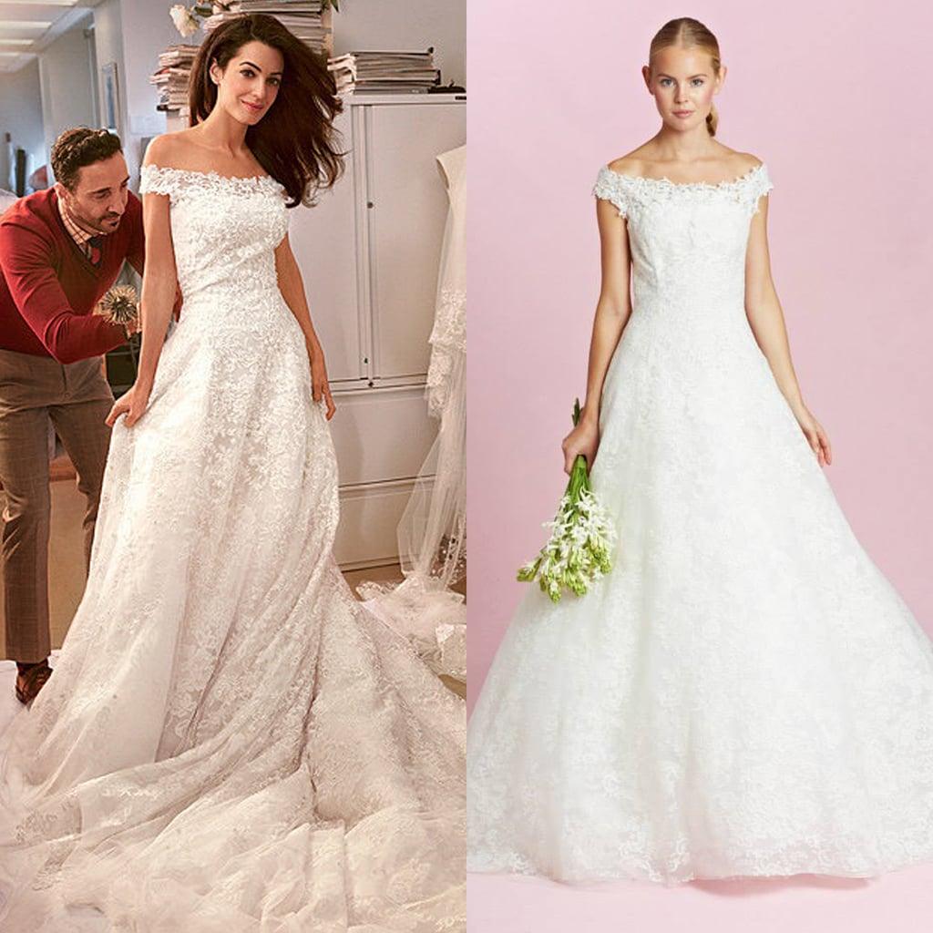 How To Buy Amal Alamuddin's Oscar de La Renta Wedding Dress
