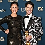 Pictured: Penélope Cruz and Darren Criss