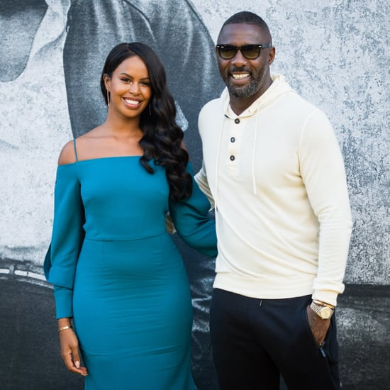 Idris Elba and Sabrina Dhowre at Yardie Premiere 2018