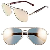 Michael Kors Collection 58mm Aviator Sunglasses ($205)