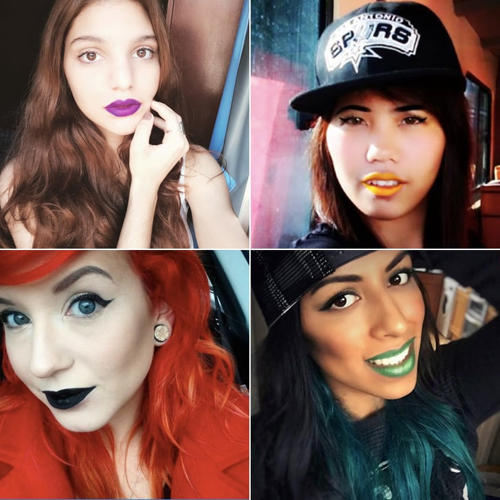 Bright Rainbow-Coloured Lipsticks