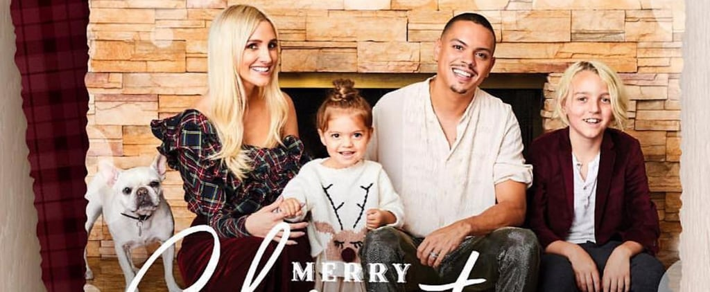 Ashlee Simpson and Evan Ross Family Holiday Card 2018