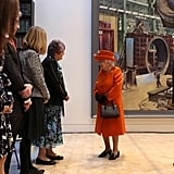 Queen Elizabeth II's First Instagram Post at Science Museum