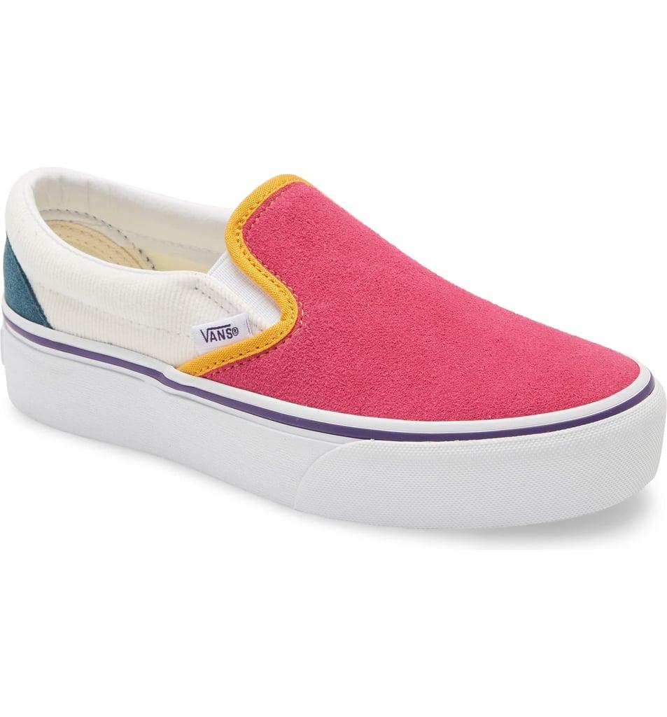 Vans Classic Slip On Platform Sneakers | Cutest Sneakers For