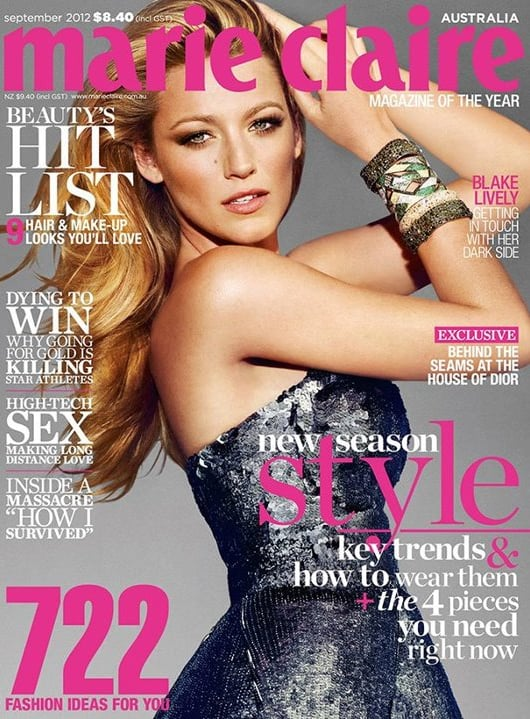 Marie Claire Australia September 2012