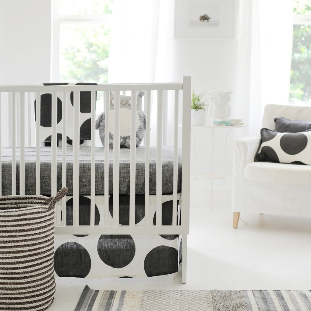 modern crib bedding  popsugar moms -