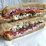 Lox and Cream Sandwich