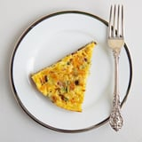 Cheddar, Bacon, and Leek Frittata