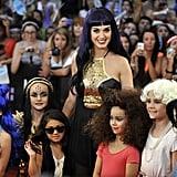Katy Perry posed with fans at the Much Music Video Awards on June 17.