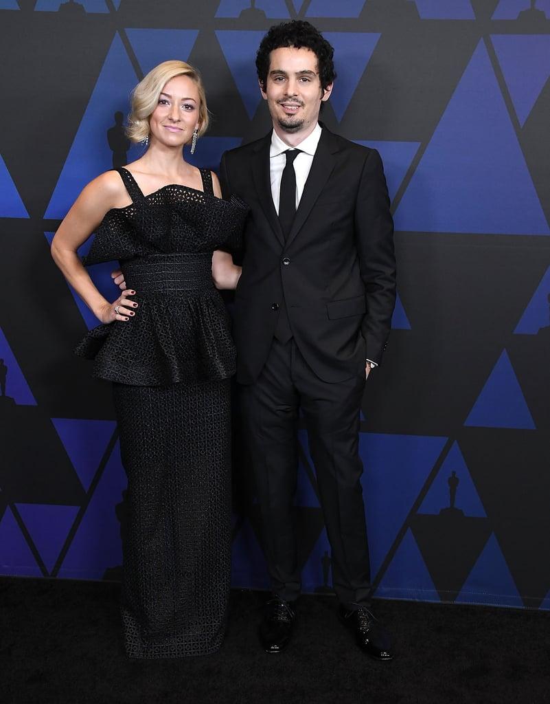 Olivia Hamilton and Damien Chazelle
