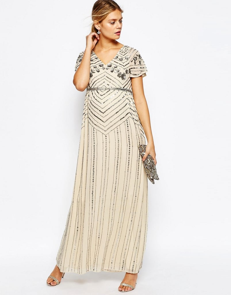 Asos Embellished Maxi Dress 138 Maternity Dresses For