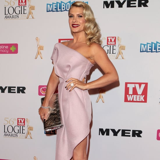 Natalie Bassingthwaighte on the 2014 Logie Awards Red Carpet
