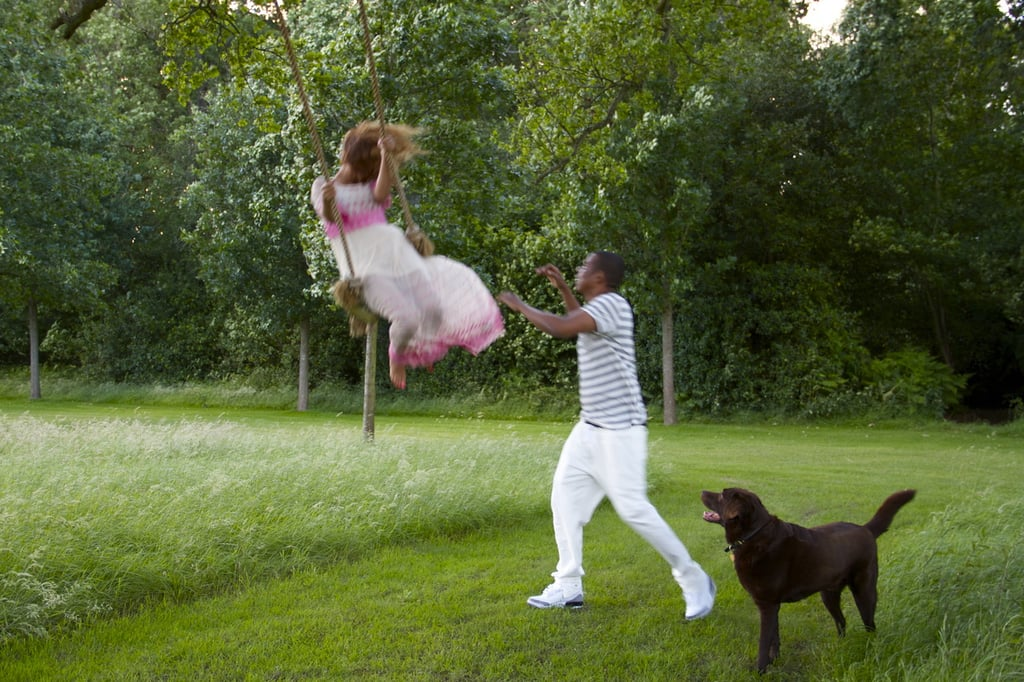 Beyoncé Knowles shared a snap behind the scenes of her fun with Jay-Z in August 2012. Source: Tumblr user iambeyonce