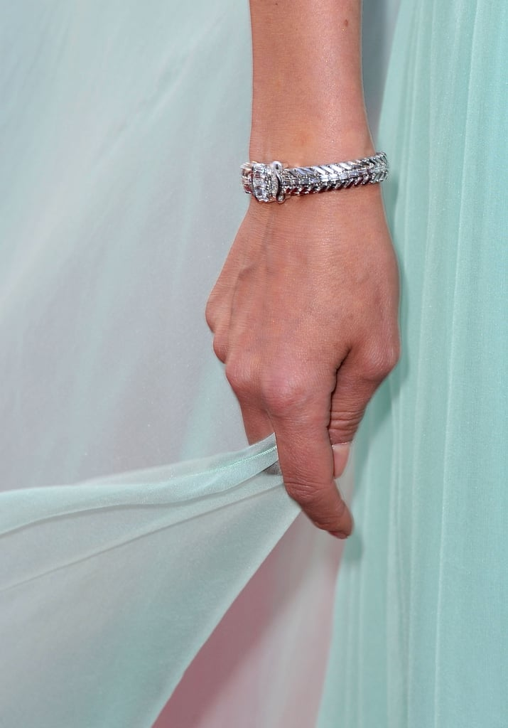 Diane Kruger wore a gorgeous diamond-encrusted watch with her gown.
