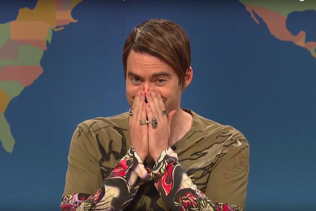 Bill Hader Laughing During Saturday Night Live Skits Videos