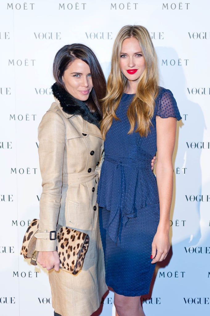 Jodi Gordon and Nikki Phillips attended the Vogue and Moet party in Sydney this week.