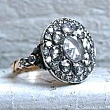 Antique Cuts: Georgian Antique Yellow Gold Diamond Rose-Cut Engagement Ring