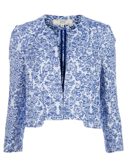 Vanessa Bruno's floral cropped jacket ($197, originally $393) is the ultimate feminine piece.
