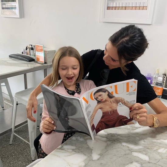 Victoria Beckham At the Nail Lab in Sydney