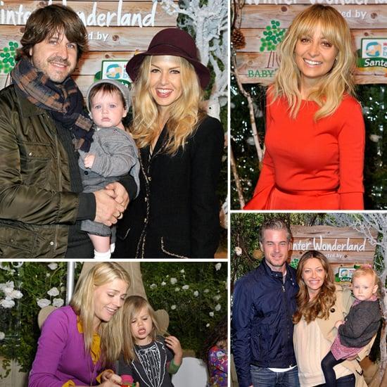 Nicole Richie Hosts a Winter Wonderland Event